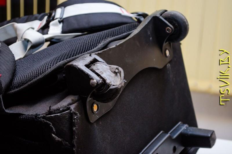 Ремонт колесиков чемодана